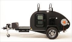Brave New Gear – gadgets for a brave new world. It's designed as a survival camper to store supplies in case you need to evacuate your area for any emergency situation. It is also however, is being marketed as a functional, recreational camper, especially if you are heading into remote areas.