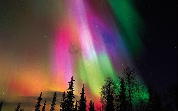 The phenomenon of solar winds interacting with the earth's magnetic fields known as the aurora borealis, or more commonly the Northern Lights, is a heart-stoppingly fantastic thing to witness.
