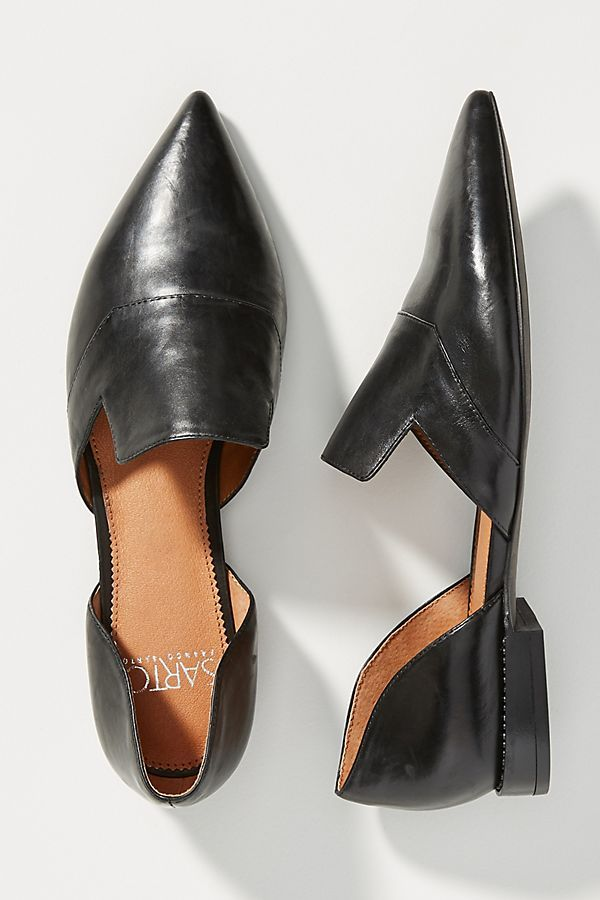 Pointy toe flats outfit, Pointed toe shoes