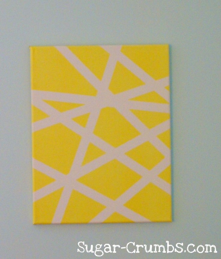Famous Painters Tape Wall Art Composition - Wall Art Collections ...