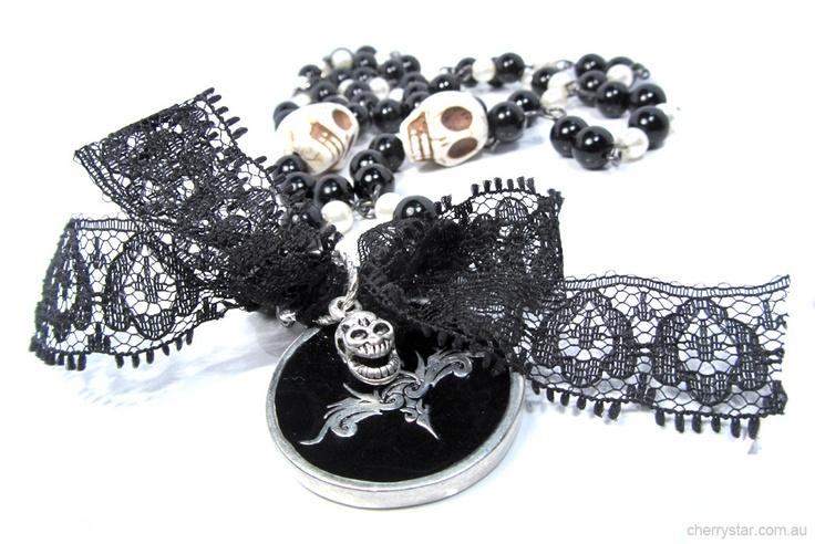 Skull Flourish Necklace