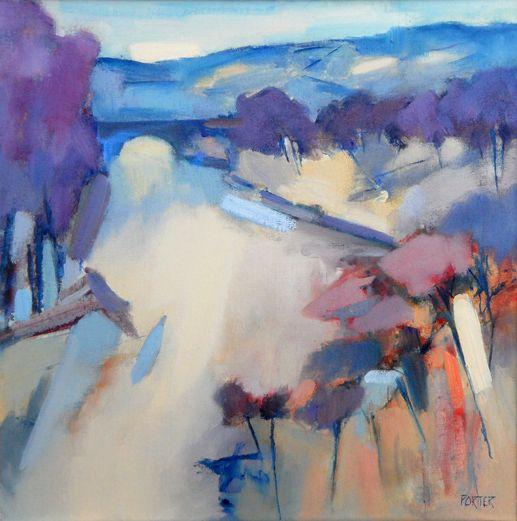 Falling Landscape - David Porter