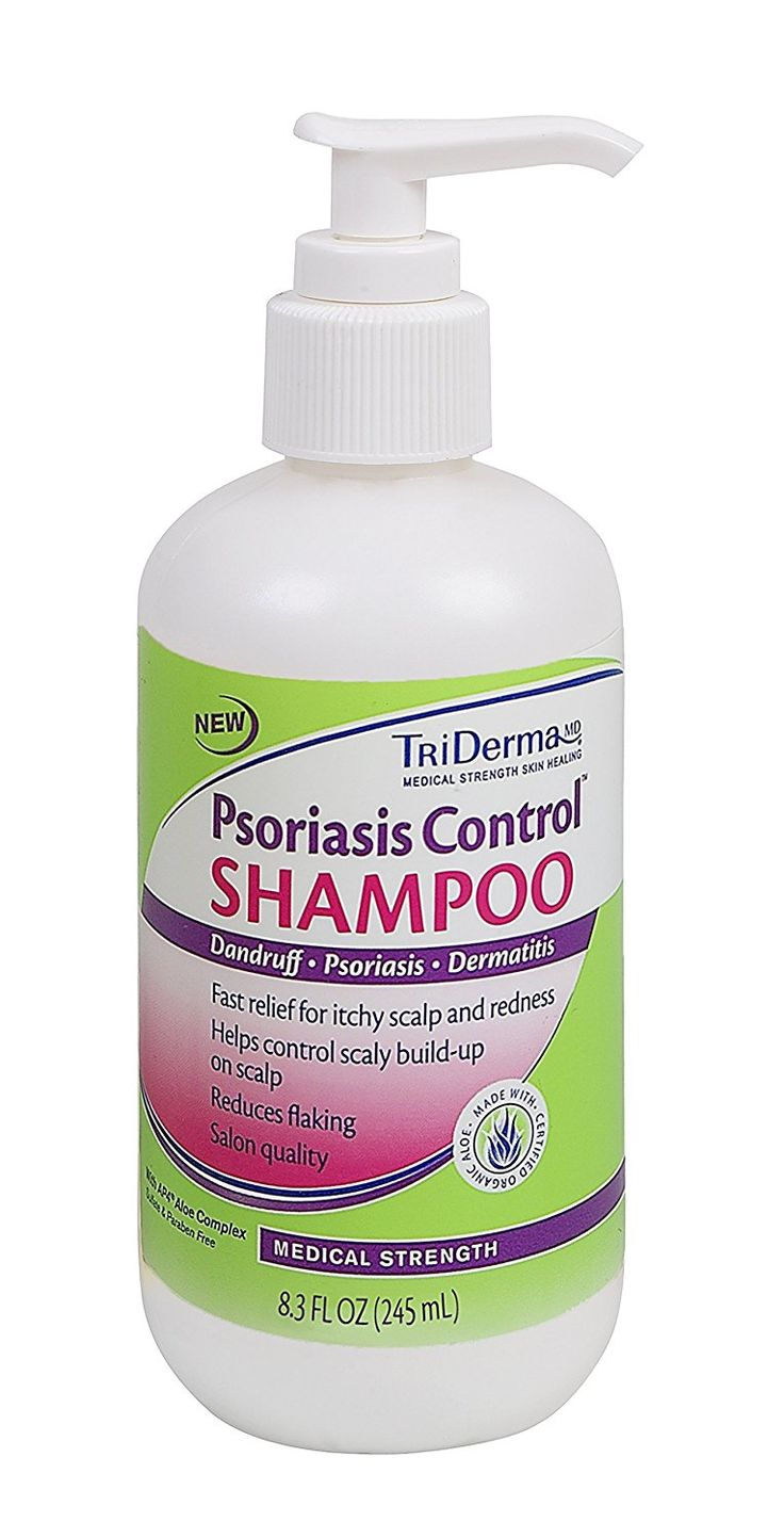 TriDerma® Psoriasis Control® Shampoo for Itchy Scalp, Dandruff, and Dermatitis Symptoms (8.3 oz) >>> Want additional info? Click on the image.