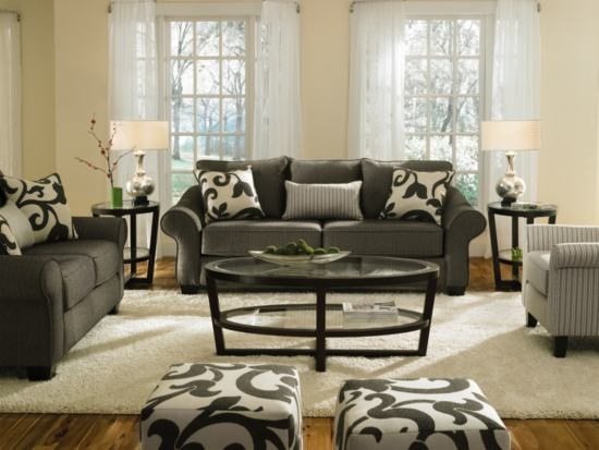 Colette grey sofa value city furniture home for Affordable furniture jennings la