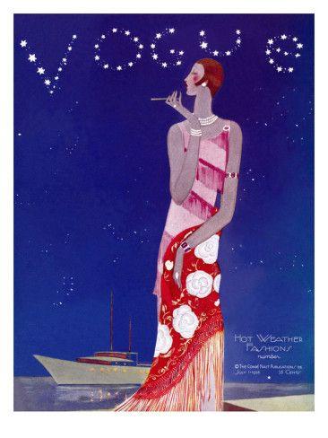 Vogue Cover, July 1926. Eduardo Garcia Benito