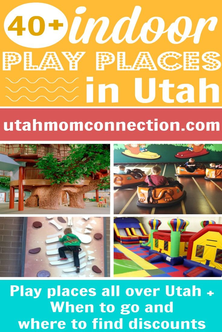 During the winter it can be hard to keep the kids entertained. Use our list of Utah Indoor Play Places to plan a fun day and save your sanity!