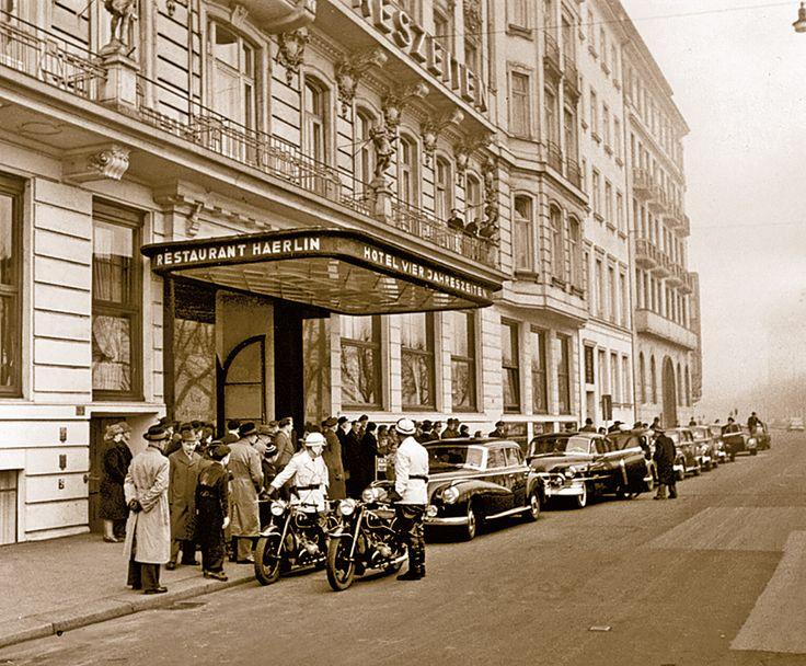 Das Fairmont Hotel Vier Jahreszeiten Hamburg - in Bildern