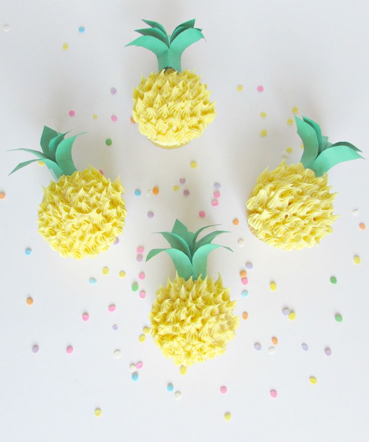 Pineapple Cupcake -Val Event Gal