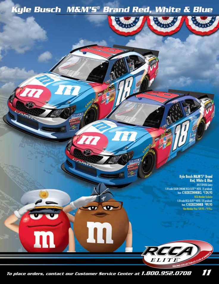 From the May RCCA Catalog - check out this Kyle Busch ...
