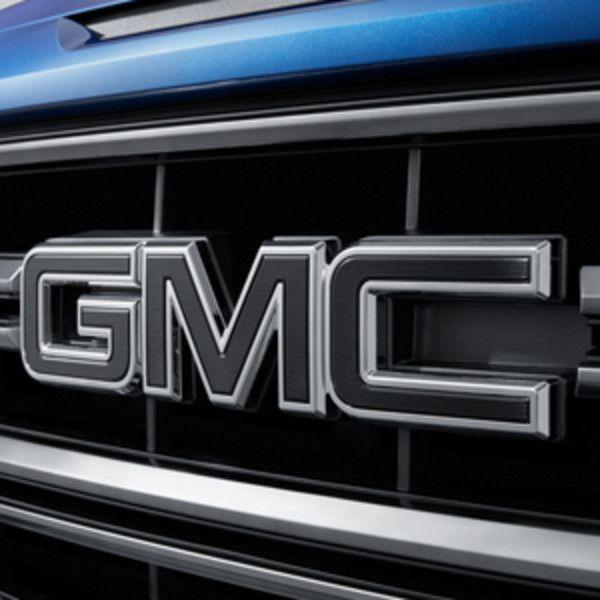 2018 Sierra 1500 Black Gmc Emblems Front Grille And Rear Tailgate 84395038 Em 2020