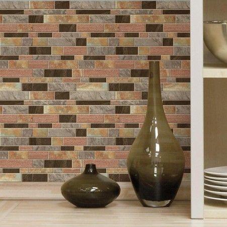 8 best images about stick on tile backsplashes on pinterest traditional pearls and marbles - Design your own backsplash ...