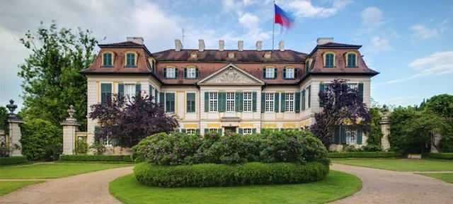 Schloss Dennenlohe - beliebteste Event Locations in Nürnberg - herrenhaus 12 jahrhundert modernen hotel