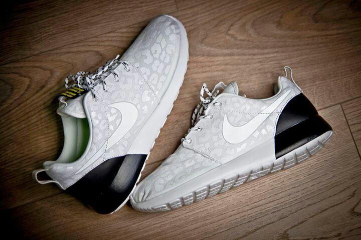 "nike shox tl - Nike Roshe Rune WMNS PRM ""Snow Leopard""   Shoes   Pinterest   Snow ..."