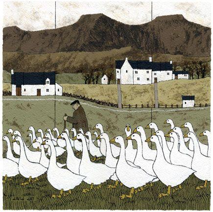 David Day Artist - Brecon Beacons