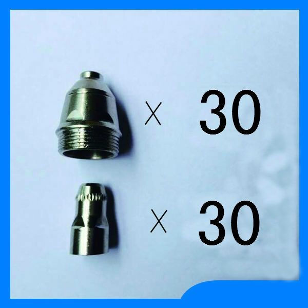 Free shipping P80 Panasonic Air Plasma Cutting Cutter Torch Consumables,Cutting material spare parts, 60PK