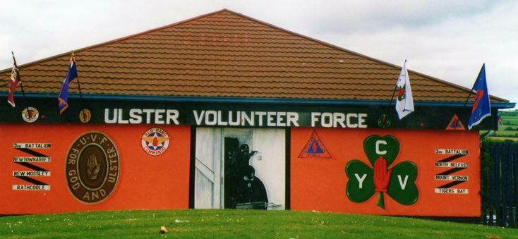 Ulster Volunteer Force 3rd Batt Wall Mural ....New Mossley .. FGAU