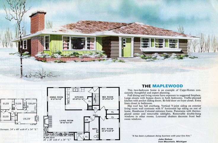 1000 images about vintage house plans 1970s on pinterest for 1970s house plans