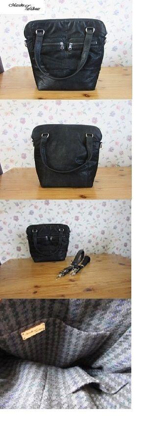 tas voor Fokelien gemaakt van het leer wat was overgebleven na het maken van de eerste opdracht