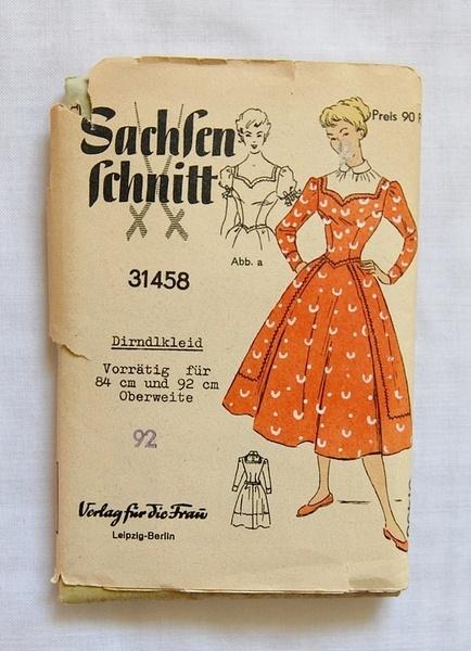 Sachsen Schnitt 31458: Sachsen Schnitt, Sewing Dirndl, Dirndl Style, Schnitt 31458