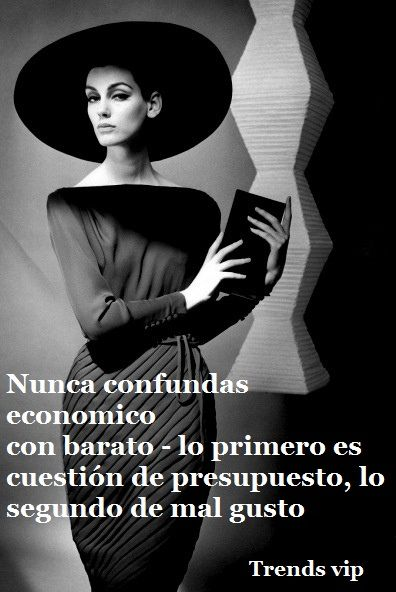 Quote of the day Frase del día http://trendsvip.com/frases-de-moda-y-estilo/