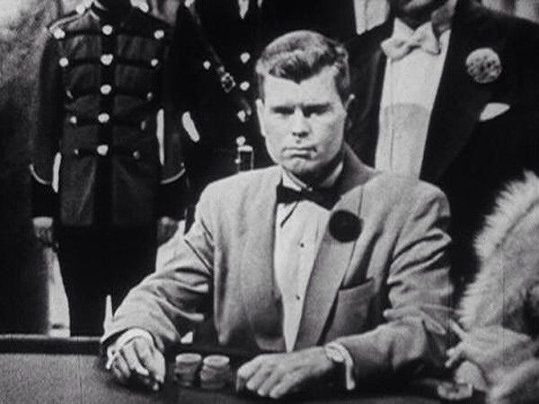 "Barry Nelson the first James Bond actor in 1954 Climax! TV adaptation of ""Casino Royale"""