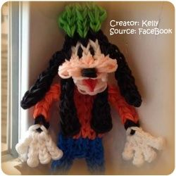 Hehe found this Goofy™ loom band #disney