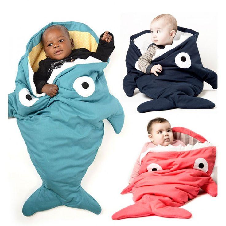 Babytrendwatcher.nl - baby bites slaapzak haai