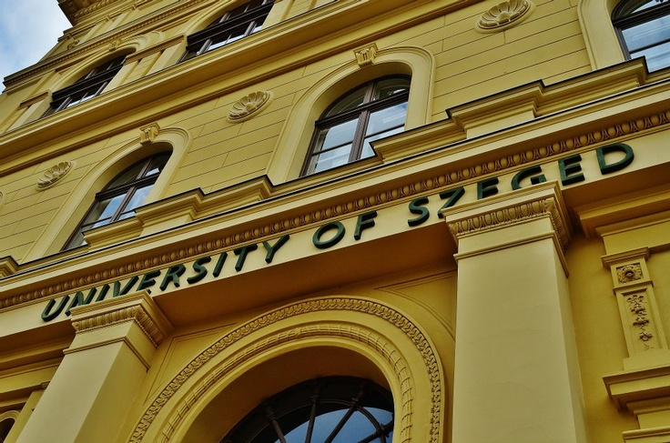 University of Szeged - This were i might be a year from now.