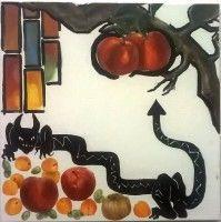 Painting by Klara Sedlo (*1993), oil on canvas 2016