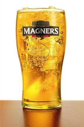 Magners Original Cider. We had this at Paddy's Hollow in Wilmington, NC. I have to get me some of this!!