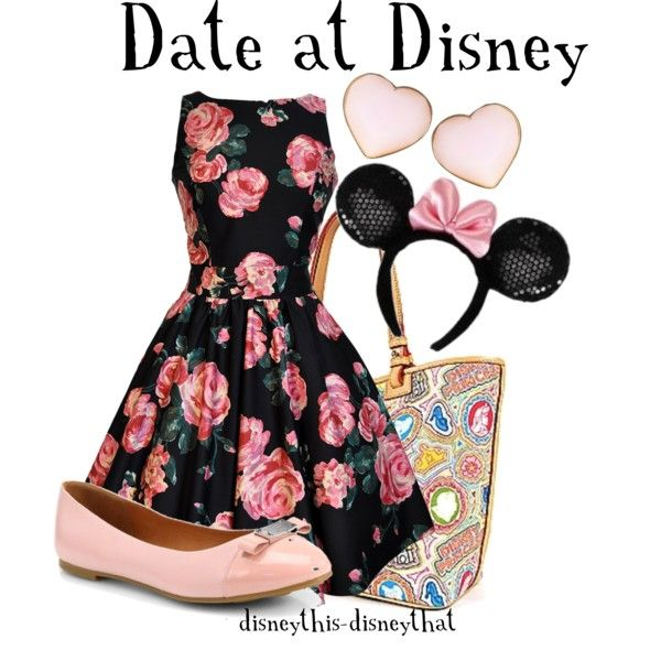 """""""Date at Disney"""" by disneythis-disneythat on Polyvore"""