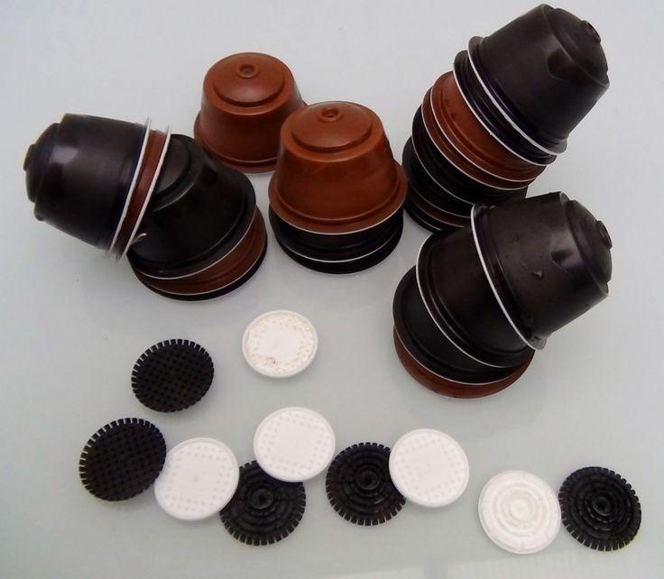 Cómo limpiar y preparar las cápsulas de café Dolce Gusto para reciclarlas. Con ellas podemos hacer manualidades y objetos decorativos. http://www.recicladocr...