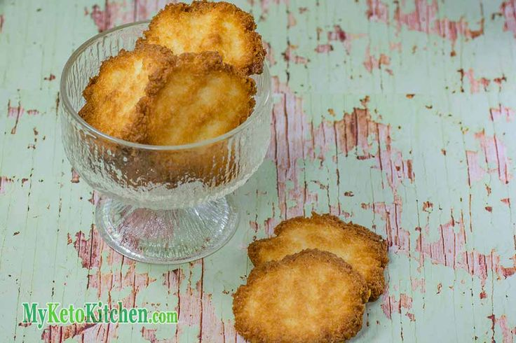 Low Carb Coconut Wafer Cookies