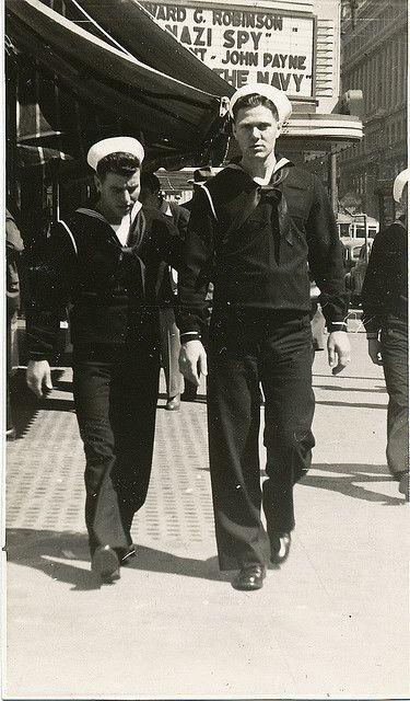 #vintage #sailors #1940s