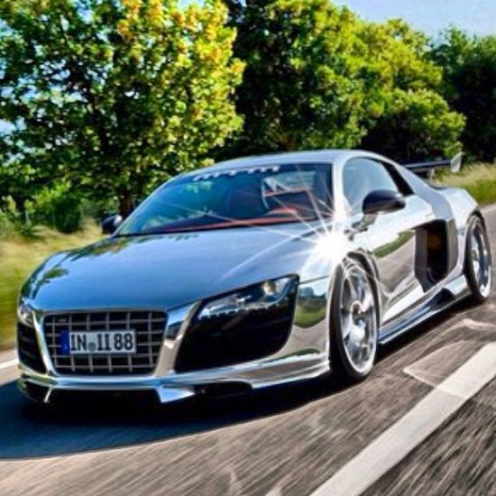 Dazzling Chrome Audi Sports Car Nice Sport Car Image Of McLaren Super Sports  Car Captured By George Williams Porsche