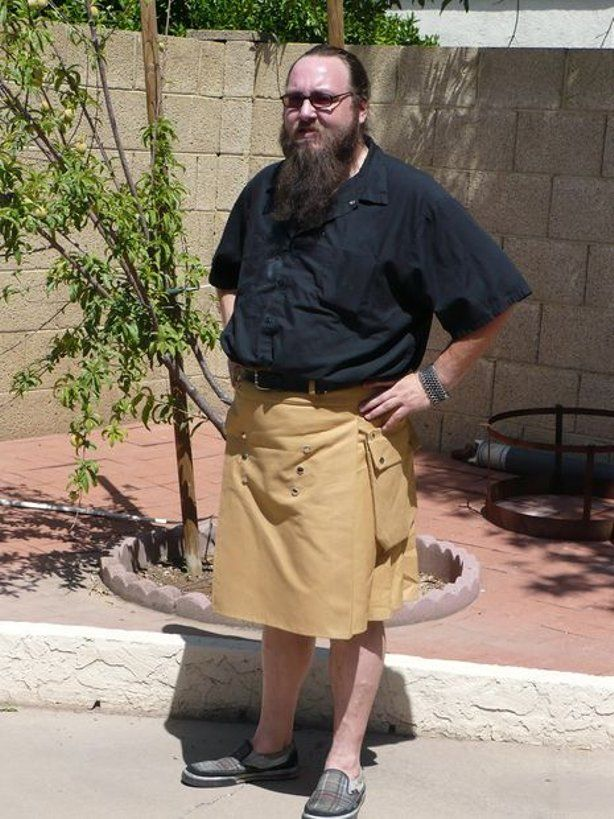 How to make a Cargo Kilt