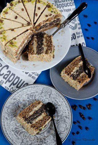 Маково-ореховый торт / X-Style
