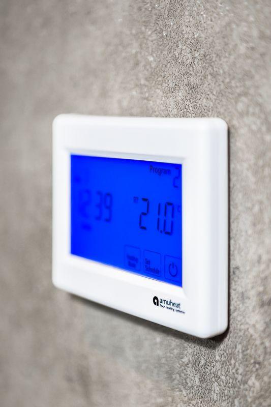 LED heat controls