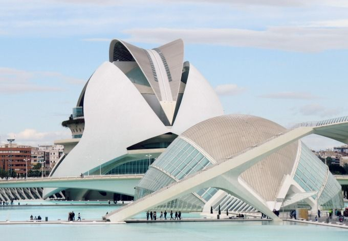 hemisferic palau reina sofia ciudad artes ciencias valencia