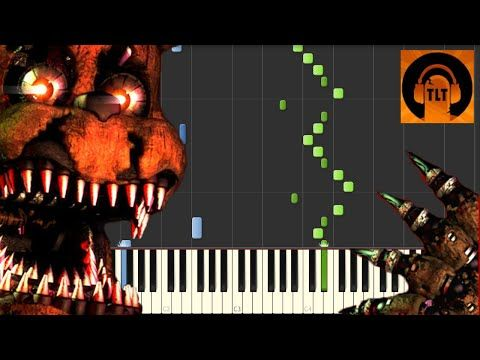FNAF 4 Song - I Got No Time - The Living Tombstone [Piano Tutorial] (Synthesia) // SHEET MUSIC - YouTube