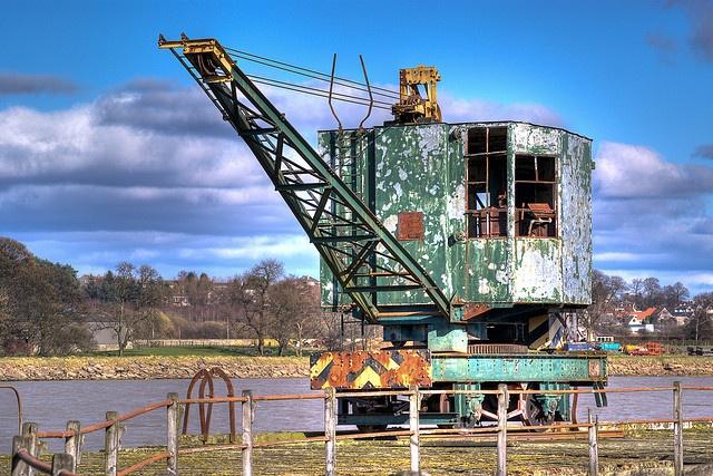 Crane on Pier    Like, share http://rochestercraneservices.com/