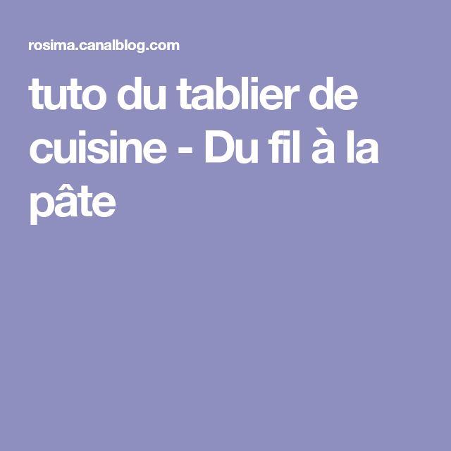 Les 25 meilleures id es de la cat gorie tablier de cuisine sur pinterest unit s de cuisine - Tuto tablier de cuisine ...