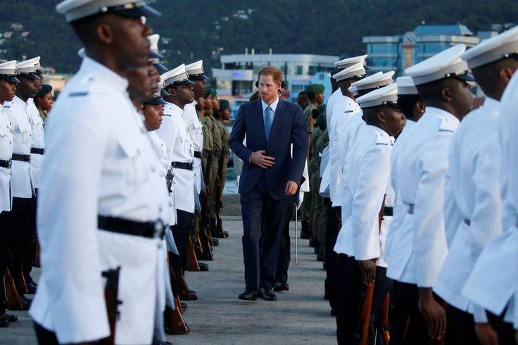 Harry y su largo recorrido por el Caribe