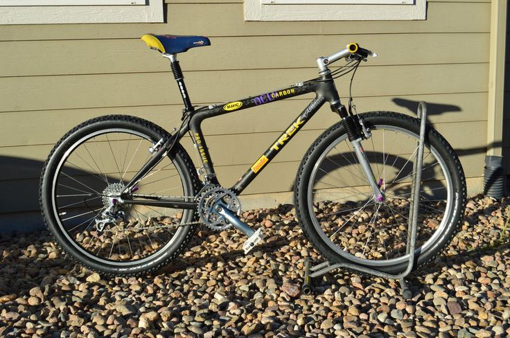 Vintage Trek Mountain Bike Pro Issue Team 9900 Oclv Carbon Ht