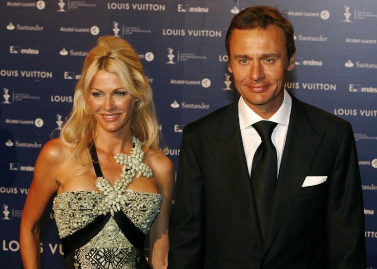 She can largely thank her husband Ernesto, Switzerland's richest man, for her fortune.