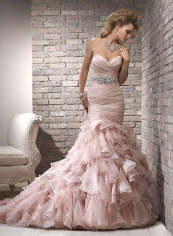 27341 best wedding ideas images on pinterest wedding dress pale pink wedding dress junglespirit Gallery