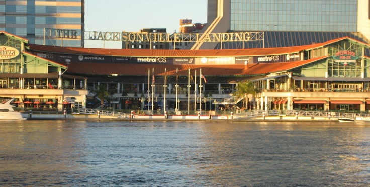 The Jacksonville Landing has shopping and entertainment.