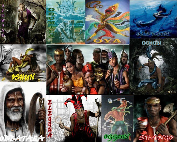 57 Best Yoruba Orishas Images On Pinterest Deities Spirituality