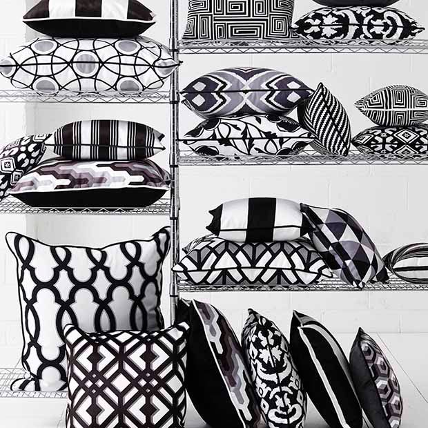 Monochrome Collection, Warwick Fabrics / Black and White