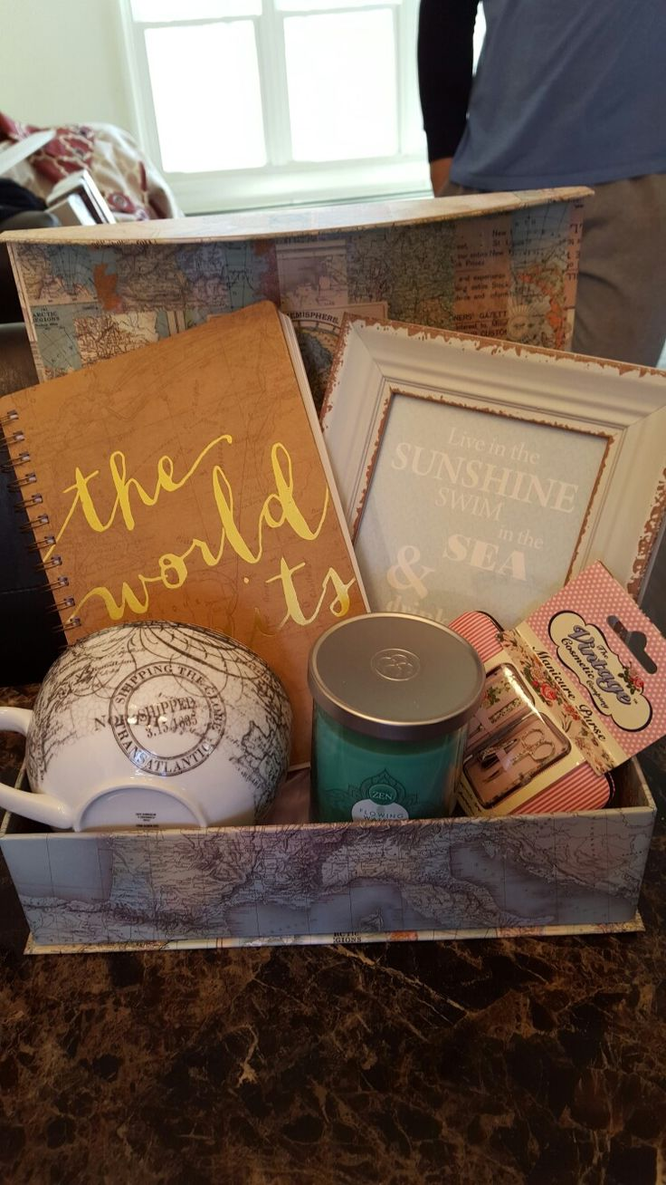 Traveling Gift Basket
